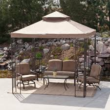 patio furniture gazebo have to have it prairie grass 8 x 8 ft gazebo canopy 239 99