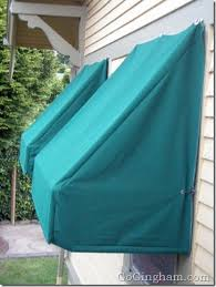 How To Make Your Own Retractable Awning Keep Your Home Cooler With Awnings Go Gingham