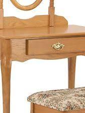 Oak Vanity Table Oak Vanities And Makeup Tables Ebay