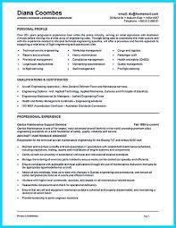 Mechanical Resume Examples by Aircraft Mechanic Resume Sample Jennywashere Com