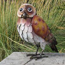 owl metal garden ornaments ebay