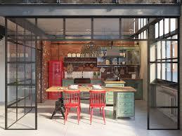 meuble de cuisine style industriel 1001 idées déco pour aménager une cuisine style industriel