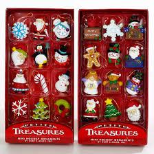 kurt adler treasures mini ornaments 12 box h9914