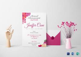 Funeral Invitation Sample Funeral Invitation Designs U0026 Templates In Word Psd Publisher