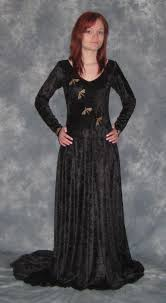 elvish style wedding dresses gabriella an elven faery wedding dress embroidered