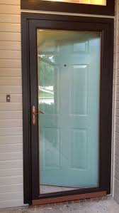 Paint A Front Door by Best 25 Painted Storm Door Ideas On Pinterest Black Entry Doors