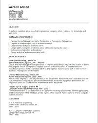 industrial engineering internship resume objective junior industrial engineer resume soaringeaglecasino us