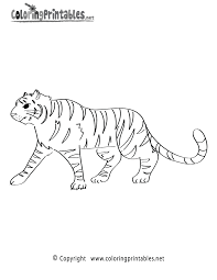 tiger coloring pages printable coloring page for kids kids coloring