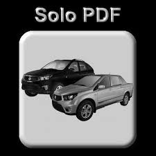 ssangyong actyon u0026 actyon sport all models 2005 2015 workshop