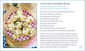 carrie u0027s biscuit delights recipe