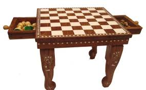 Plastic Chess Table IndiaAntique Chess TableChess Board Table - Board game table design