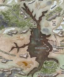 Forgotten Realms Map Underchasm Forgotten Realms Wiki Fandom Powered By Wikia