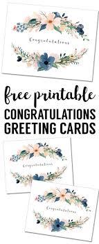 free wedding congratulations cards congratulations card printable free printable greeting cards