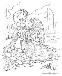 brave movie young princess coloring pages free printable coloring
