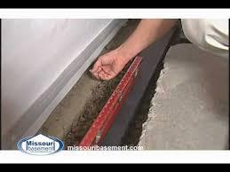 basement waterproofing youtube