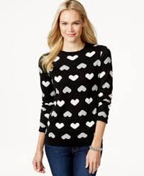 charter sweater charter sleeve print sweater only at macy s