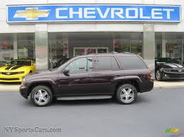 chevrolet trailblazer 2008 2008 chevrolet trailblazer lt 4x4 in dark cherry metallic 165640