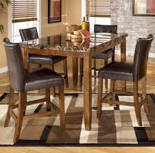 Average Dining Room Table Height by Larchmont Squarerectangular Counter Height Dining Room Set By 32 1