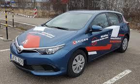 auris p kriščiūno vairavimo mokykloje nauji toyota auris automobiliai