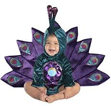 Infant Peacock Halloween Costume Amazon Princess Paradise Baby Peacock Deluxe Costume Clothing