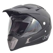 kbc motocross helmets uber baja acu gold bike motorbike motorcycle touring crash
