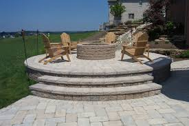 Raised Paver Patio Paving Patio Installation By Brandon Landscape Pittsburgh S