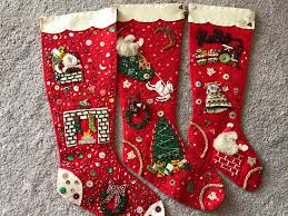 love my vintage stockings christmas stockings vintage