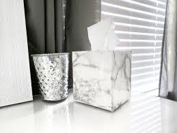 Marble Home Decor Diy Home Decor U2013 Marble Tissue Box U2013 Senseful Style