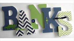 Nursery Wall Decor Letters Nursery Wall Decor Letters