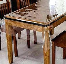 clear vinyl table protector clear table protector dining room cover protectors s pads ikea