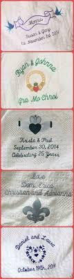 personalized wedding blanket custom made wedding blanket personalized wedding blanket
