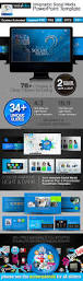 socialidea social media powerpoint templates by graphicartist