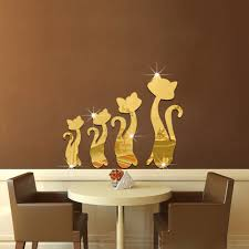 compare prices on mirror adhesive online shopping buy low price mirror wall sticker 50 35cm a square mirror wall decoration adhesive film high quality