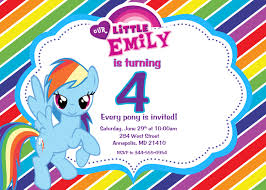 free rainbow birthday invitations rainbow dash invitations