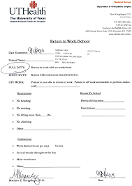 10 best images of er doctor note blank doctors note work excuse