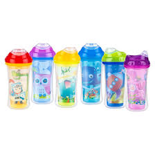 nuby cup insulated cool sipper sippy cup assorted colors sippy