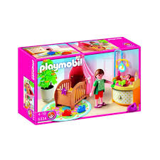 playmobil chambre bébé chambre de bébé avec berceau playmobil 5334 kdo louise