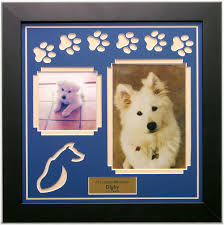 pet loss memorial products family dogs shadow box and box