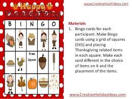 icebreakers thanksgiving bingo