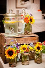 Rustic Mason Jar Centerpieces For Weddings by 20 Great Ideas To Use Wooden Crates At Rustic Weddings Wooden
