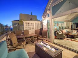 fire pit sand stunning beachside home glass balcony w fire pit steps from the