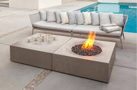 cocktail table fire pit brown jordan fire pit horizon used as cocktail table with the