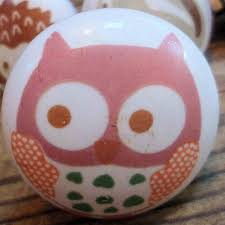 Knobs And Handles For Bedroom Furniture Owls Painted Ceramic Door Knobs Childrens Nursery Bedroom