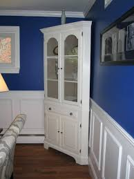 corner cabinet dining room hutch small black built in oak hutches