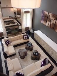 Woven Outdoor Rugs Two Story Curtains Ideas Living Room Contemporary With