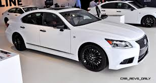 lexus white 2015 car revs daily com 2015 lexus ls460 f sport crafted line is most