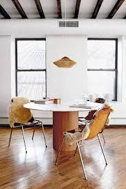 Low Dining Room Tables High Low Roundup Round Pedestal Dining Tables Coco Kelley