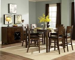 modern dining room ideas flower candle centerpieces dining table