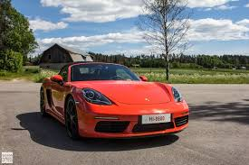 porsche cayman orange first drive porsche 718 boxster s
