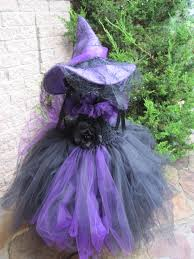 witch costume pottery barn tutu dress halloween witch costume wrinkled scary black and